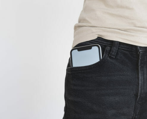 Is it safe to carry the mobile phone on your body