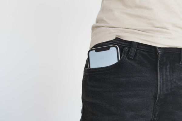 Cell phone in your pocket - is that questionable?