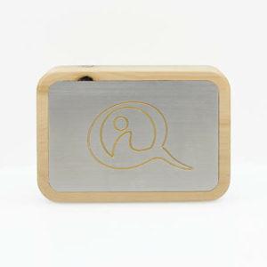 Qi-Mobile Zirbe schützt unterwegs vor Handystrahlung