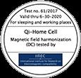 IIREC-Zertifikat für Qi-Home Cell