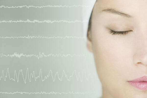 How brain waves work and can be activated - theta waves as frequencies of relaxation
